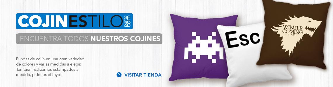 COJINESTILO Cojines estampados con vinilo textil