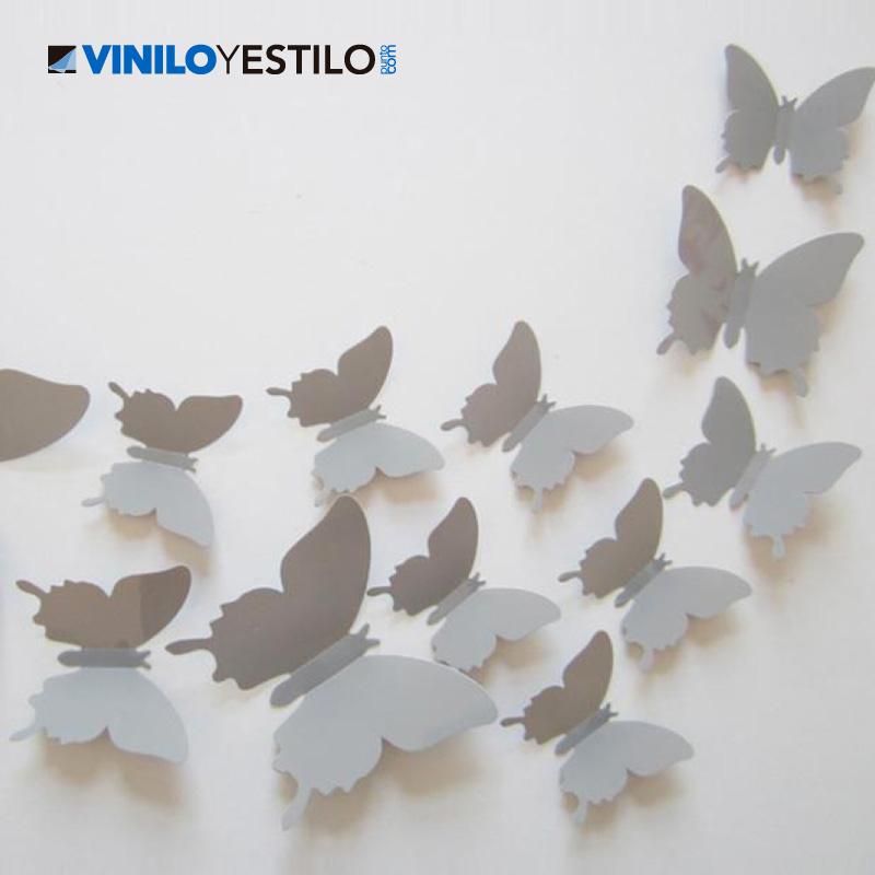 Mariposas 3d - Como hacer mariposas de papel para decorar paredes ...